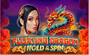 Floating Dragon slot logo