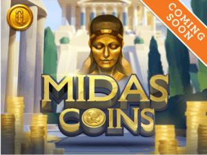 Midas Coins slot logo