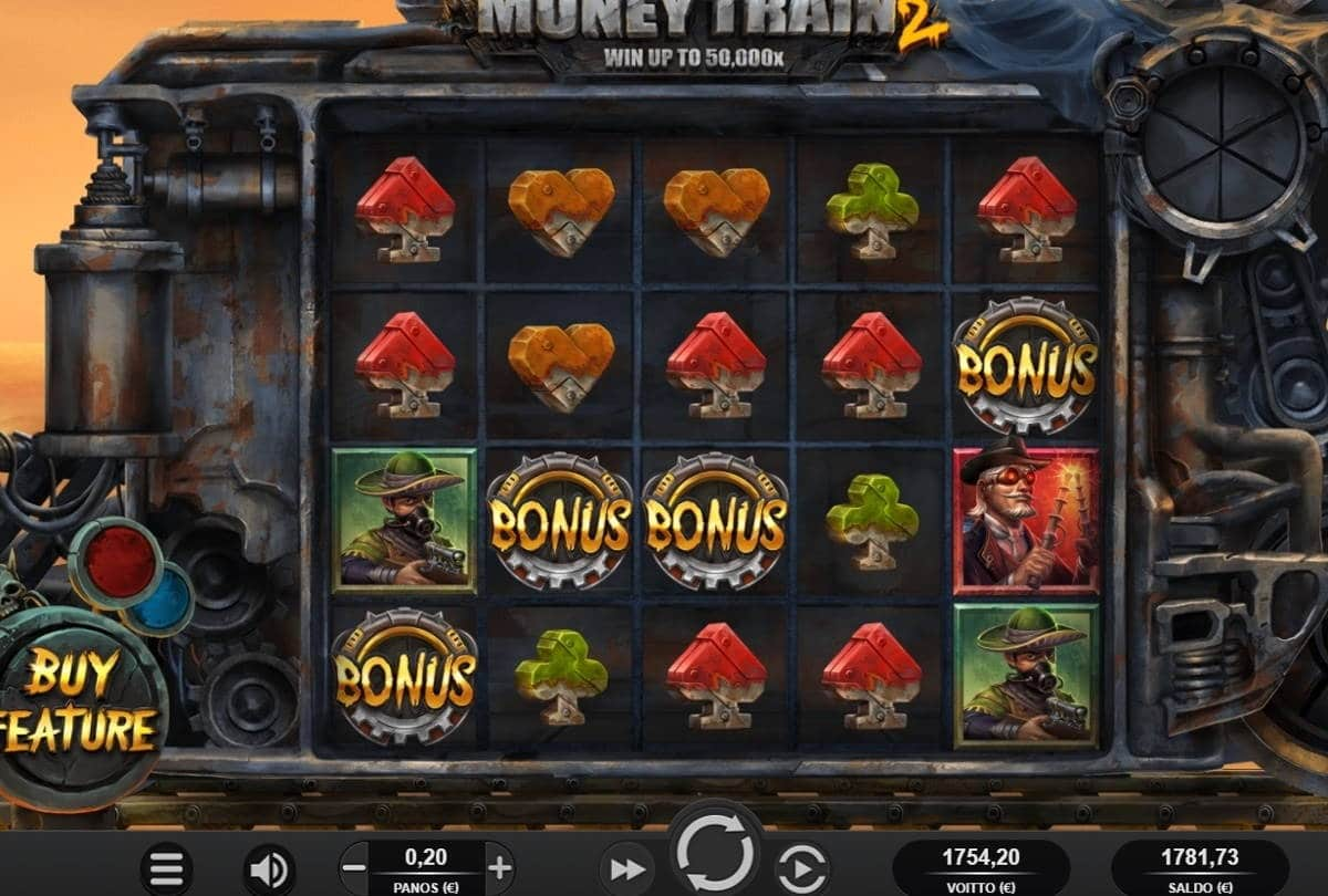 Money Train 2 Casino win picture by ValkoVenäläine 12.3.2021 1754.20e 8771X