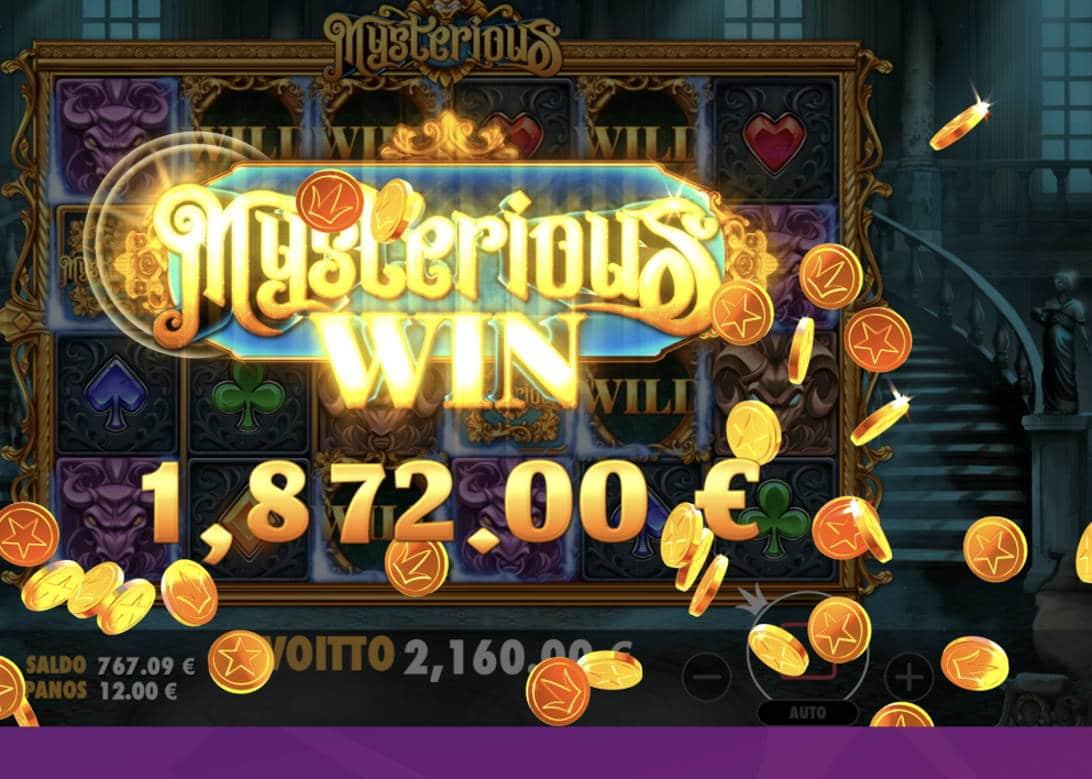 Mysterious Casino win picture by Pottijussi 16.2.2021 2160e 180X