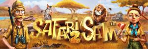 Safari Sam 2 slot logo