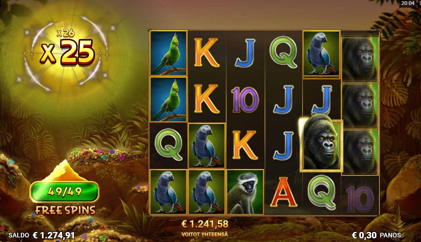 Silverback Multiplier Mountain Casino win picture by Rektumi 5.2.2021 1241.58e 4139X