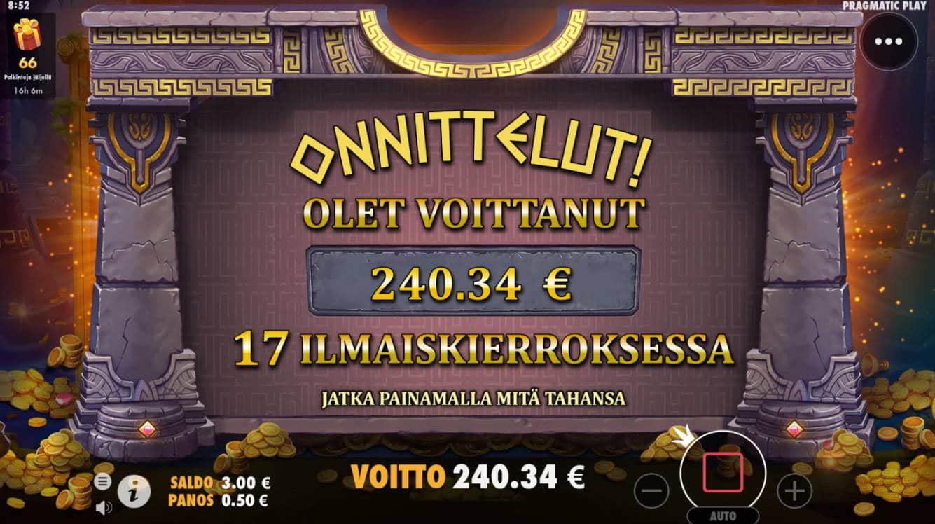 The Hand of Midas Casino win picture by NkostraS (Boostmevent) 17.3.2021 240.34e 481X