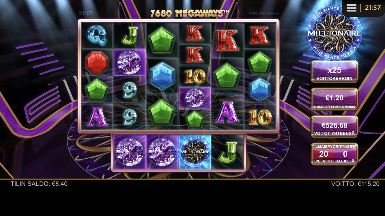 Who Wants To Be a Millionaire Casino win picture by Trollbutcher 24.2.2021 526.80e 439X