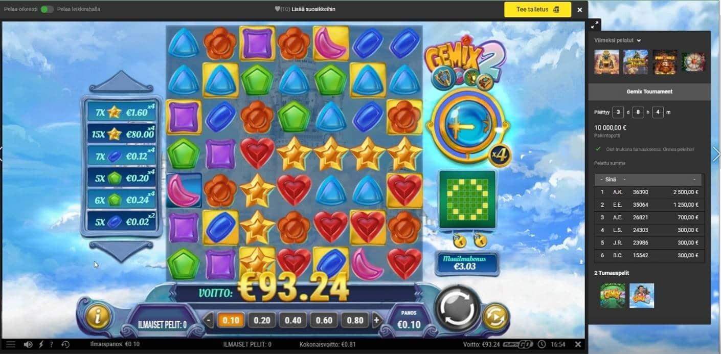 Gemix 2 Casino win picture by jube 12.4.2021 93.24e 932X