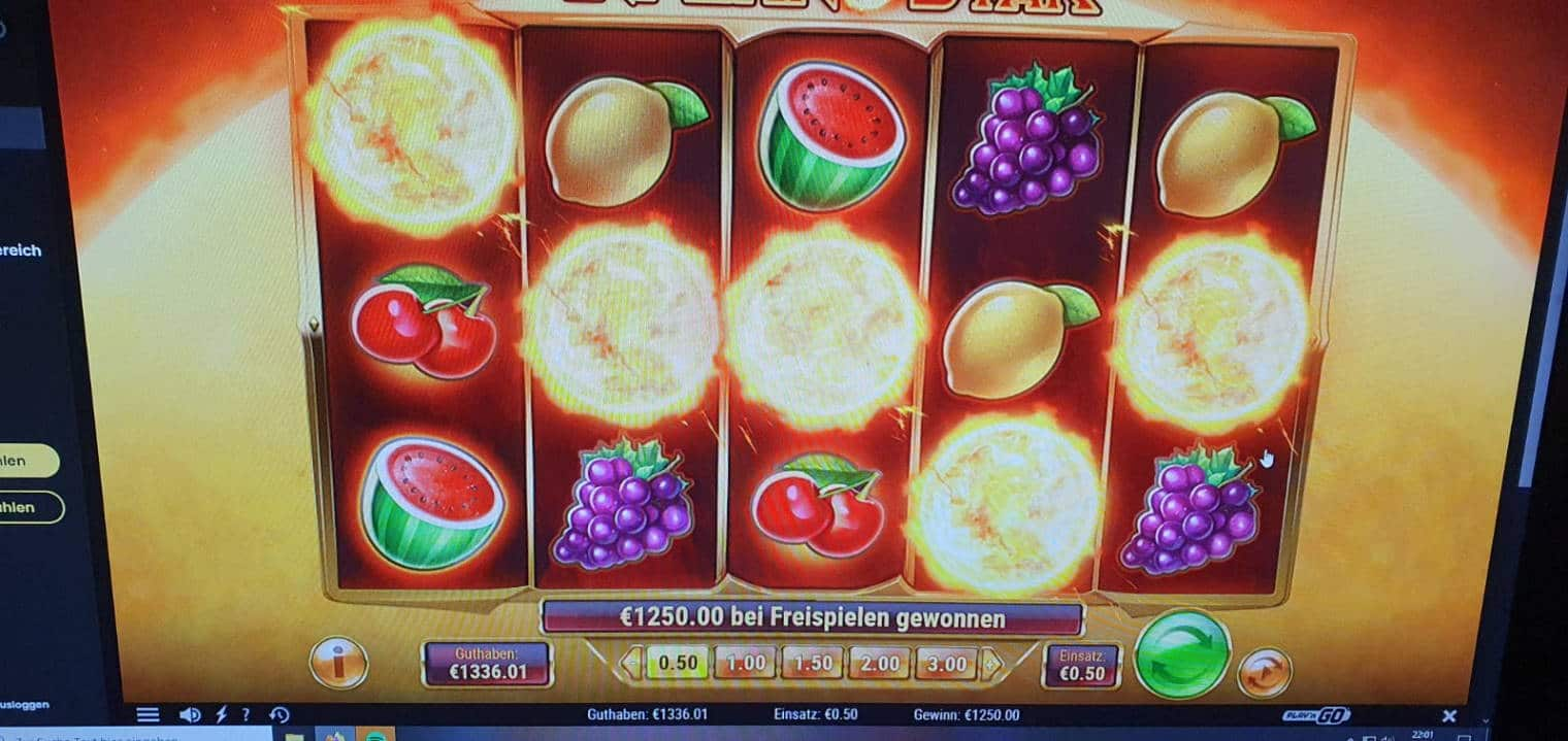 Inferno Star Casino win picture by Schlachthaus 25.4.2021 1250e 2500X