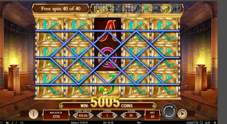 Legacy of Dead Casino win picture by dj_niemi 20.4.2021 200.20e 501X