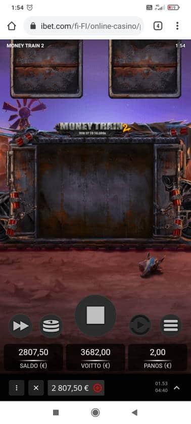 Money Train 2 Casino win picture by Shorty 12.4.2021 3682e 1841X ibet