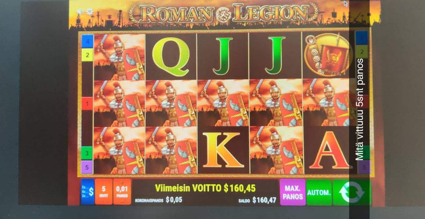 Roman Legion Casino win picture by TheKeke 30.3.2021 160.45d 3209X