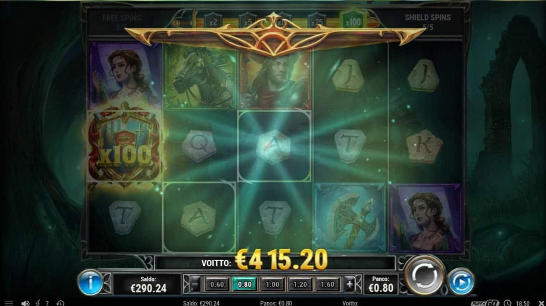 The Green Knight Casino win picture by Wile 24.3.2021 415.20e 519X