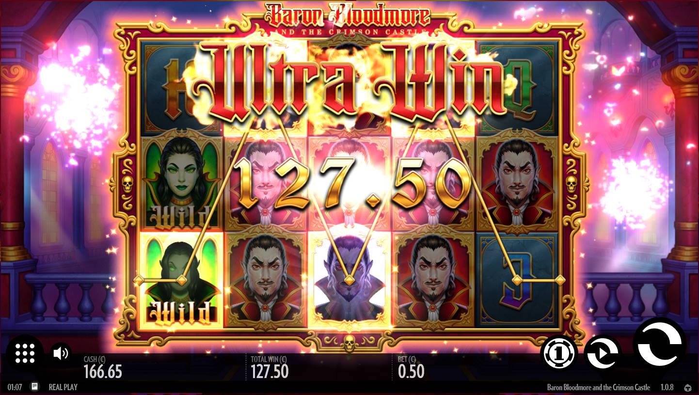 Baron Bloodmore and Crimson Castle Casino win picture by Kari Grandi 21.5.2021 127.50e 255X