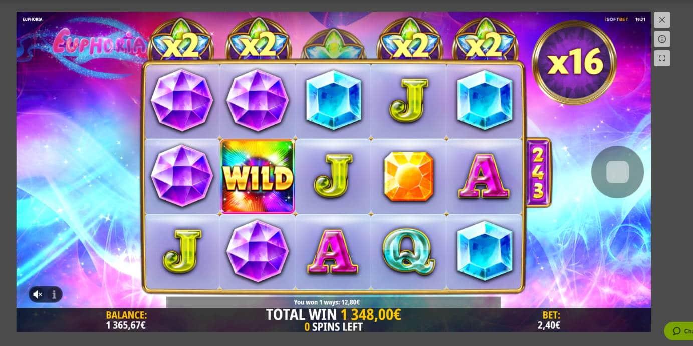 Euphoria Casino win picture by Banhamm 9.5.2021 1348e 562X
