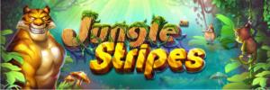 Jungle stripes slot logo