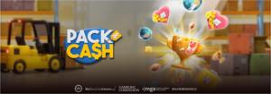 Pack & Cash slot logo