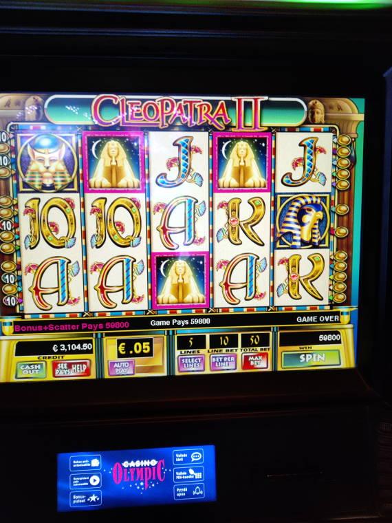 Cleopatra 2 Casino win picture by MrMork 7.6.2021 2990e 1196X Casino Olympic