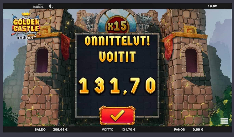 Golden Castle Casino win picture by Mrmork666 31.5.2021 131.70e 220X