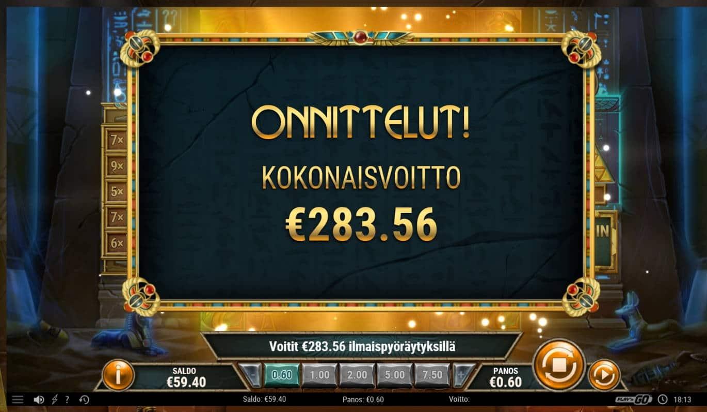 Golden Osiris Casino win picture by Mrmork666 31.5.2021 283.56e 473X