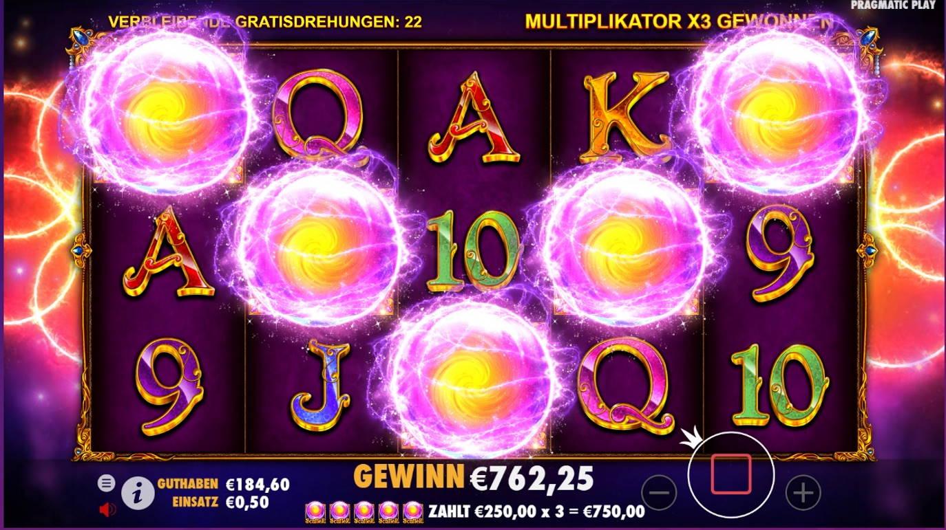 Madame Destiny Casino win picture by x3n81 1.6.2021 762.25e 1525X Wheelz