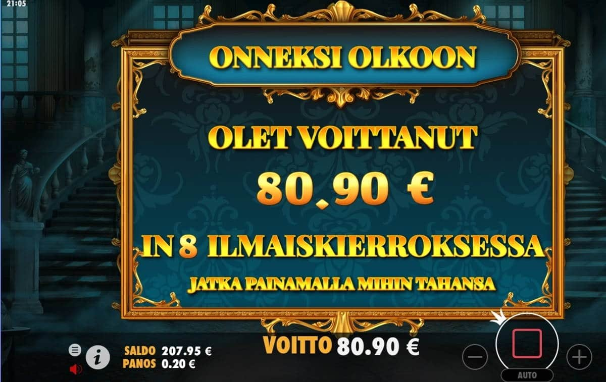 Mysterious Casino win picture by dj_niemi 14.6.2021 80.90e 405X