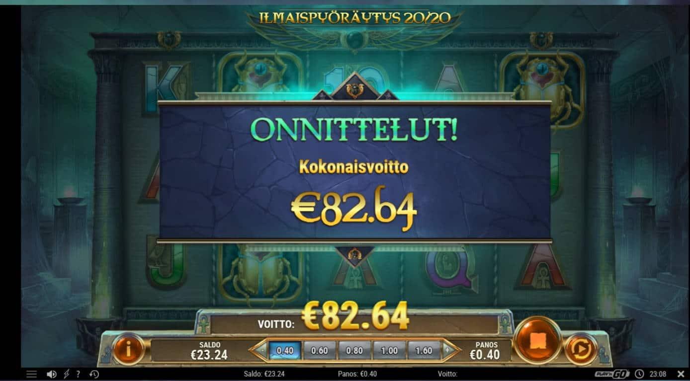 Rise Of Dead Casino win picture by Mrmork666 31.5.2021 82.64e 206X