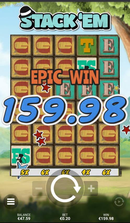 Stack em Casino win picture by HuuZ 27.5.2021 159.98e 800X