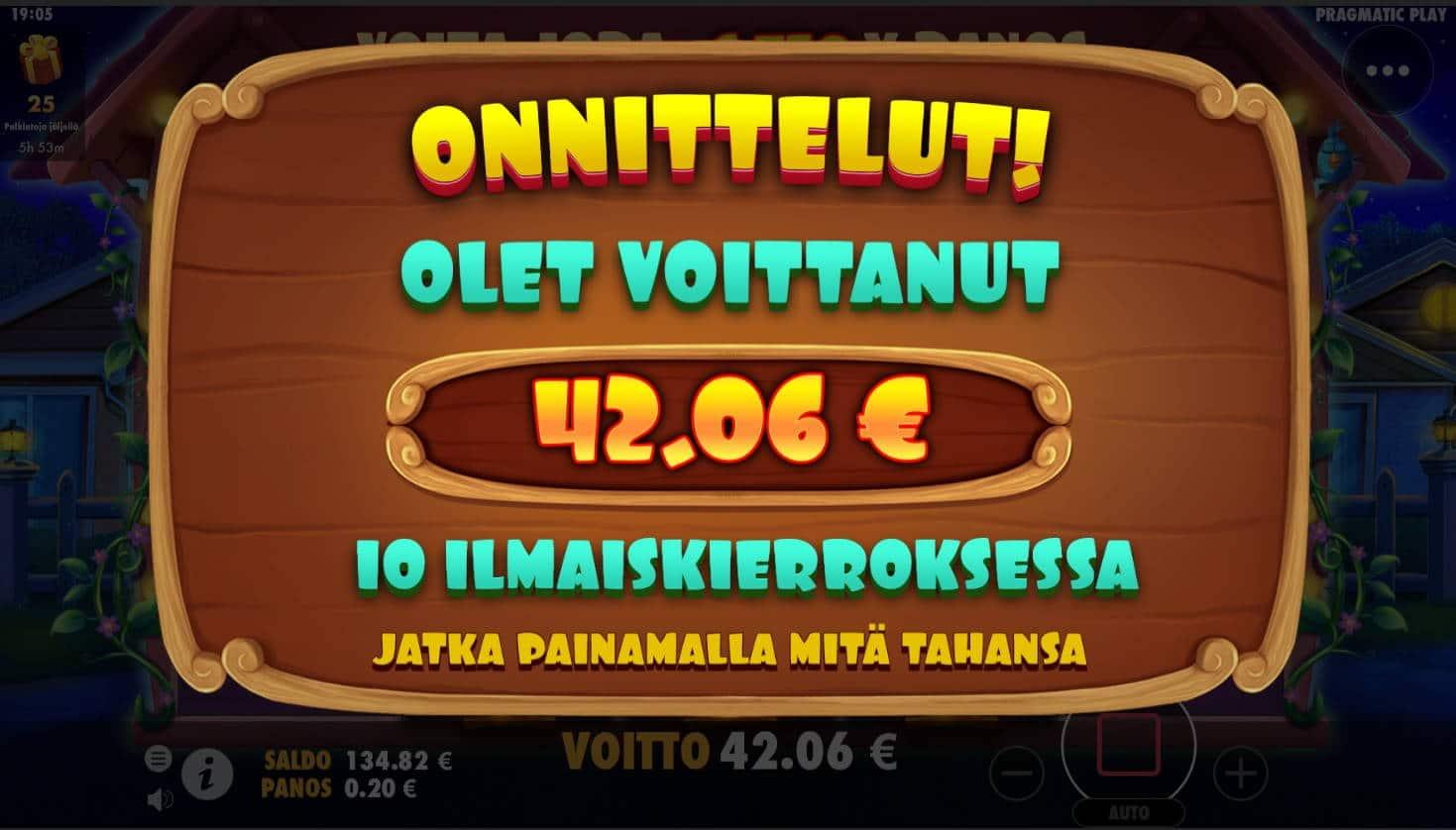 The Dog House Casino win picture by Mrmork666 31.5.2021 42.06e 210X