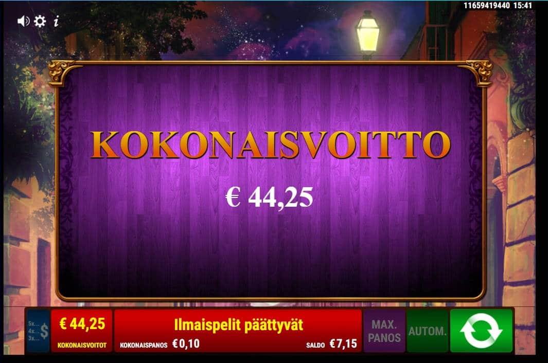 Books & Bulls Casino win picture by FartyPantZ 24.6.2021 44.25e 443X Wildz