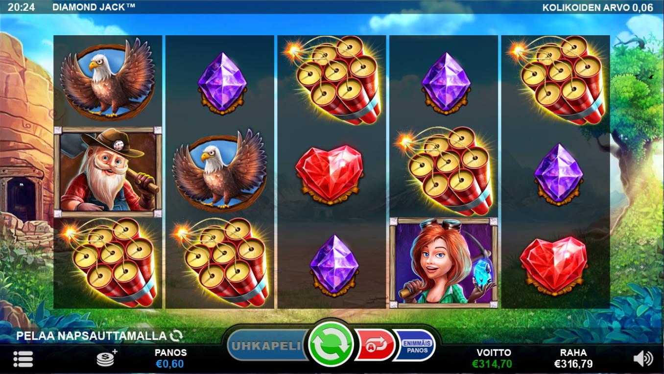 Diamond Jack Casino win picture by Kari Grandi 28.6.2021 314.70e 525X