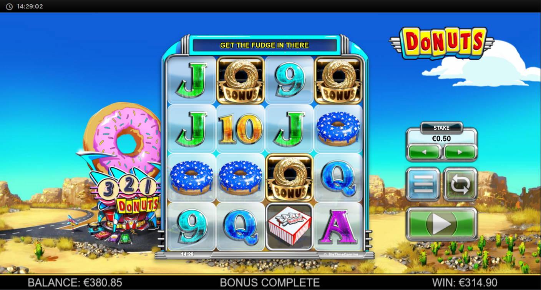 Donuts Casino win picture by Kari Grandi 30.6.2021 314.90e 630X