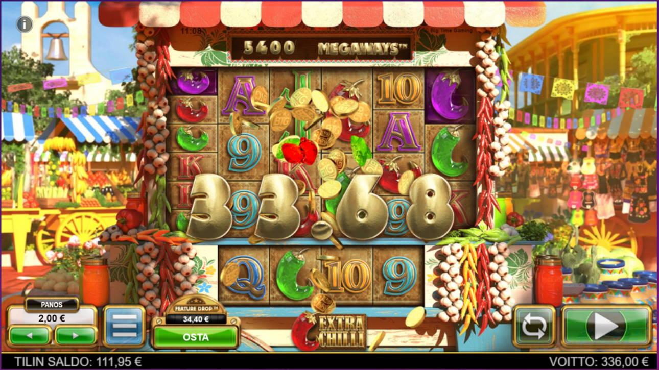 Extra Chilli Casino win picture by tiikerililja87 19.6.2021 336e 168X Wheelz