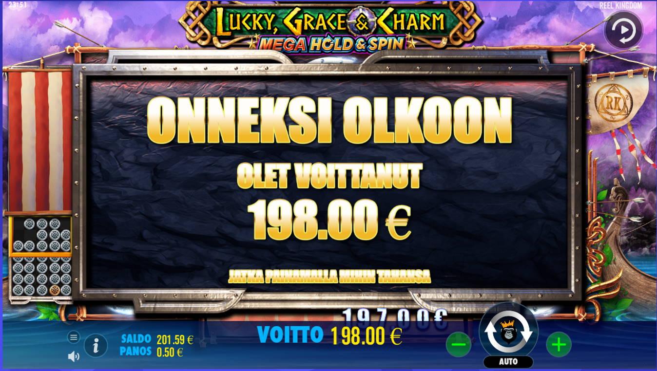 Lucky Grace & Charm Casino win picture by Kari Grandi 2.7.2021 198e 396X
