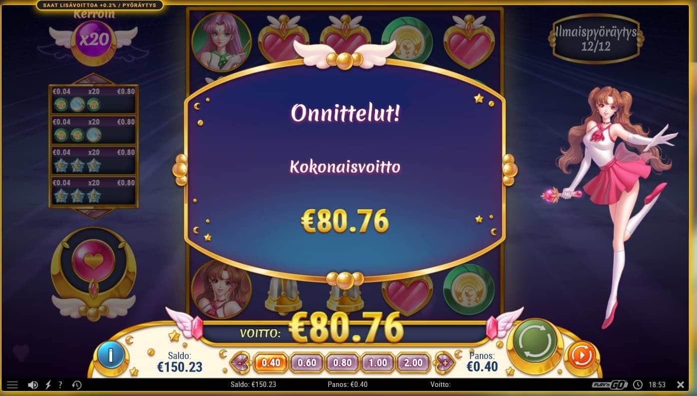 Moon Princess Casino win picture by Mrmork666 29.6.2021 80.76e 202X