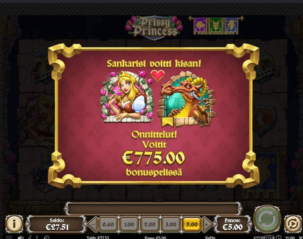 Prissy Princess Casino win picture by kalmakoura666 14.7.2021 775e 155X