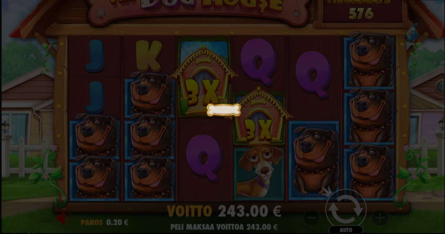 The Dog House Megaways Casino win picture by MlGU 18.6.2021 243e 1215X