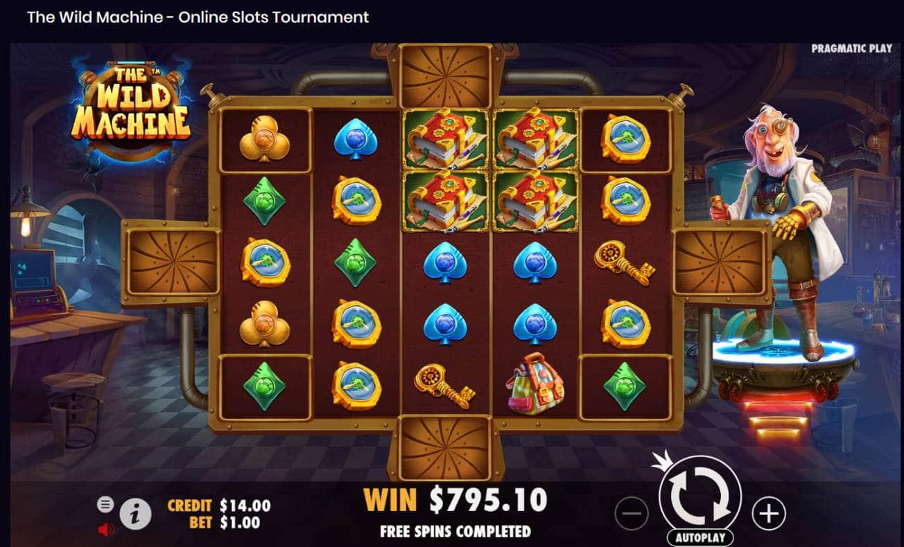 The Wild Machine Casino win picture by Kari Grandi 15.7.2021 795.10e 795X