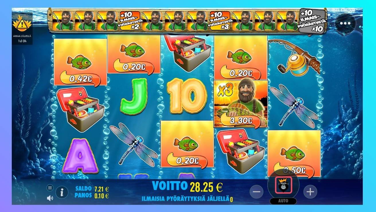 Big Bass Bonanza Casino win picture by SluvE 3.8.201 28.25e 283X Wildz