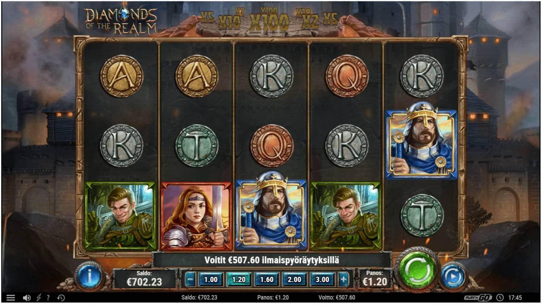 Diamonds of the Realm Casino win picture by LexKing 13.8.2021 507.60e 423X