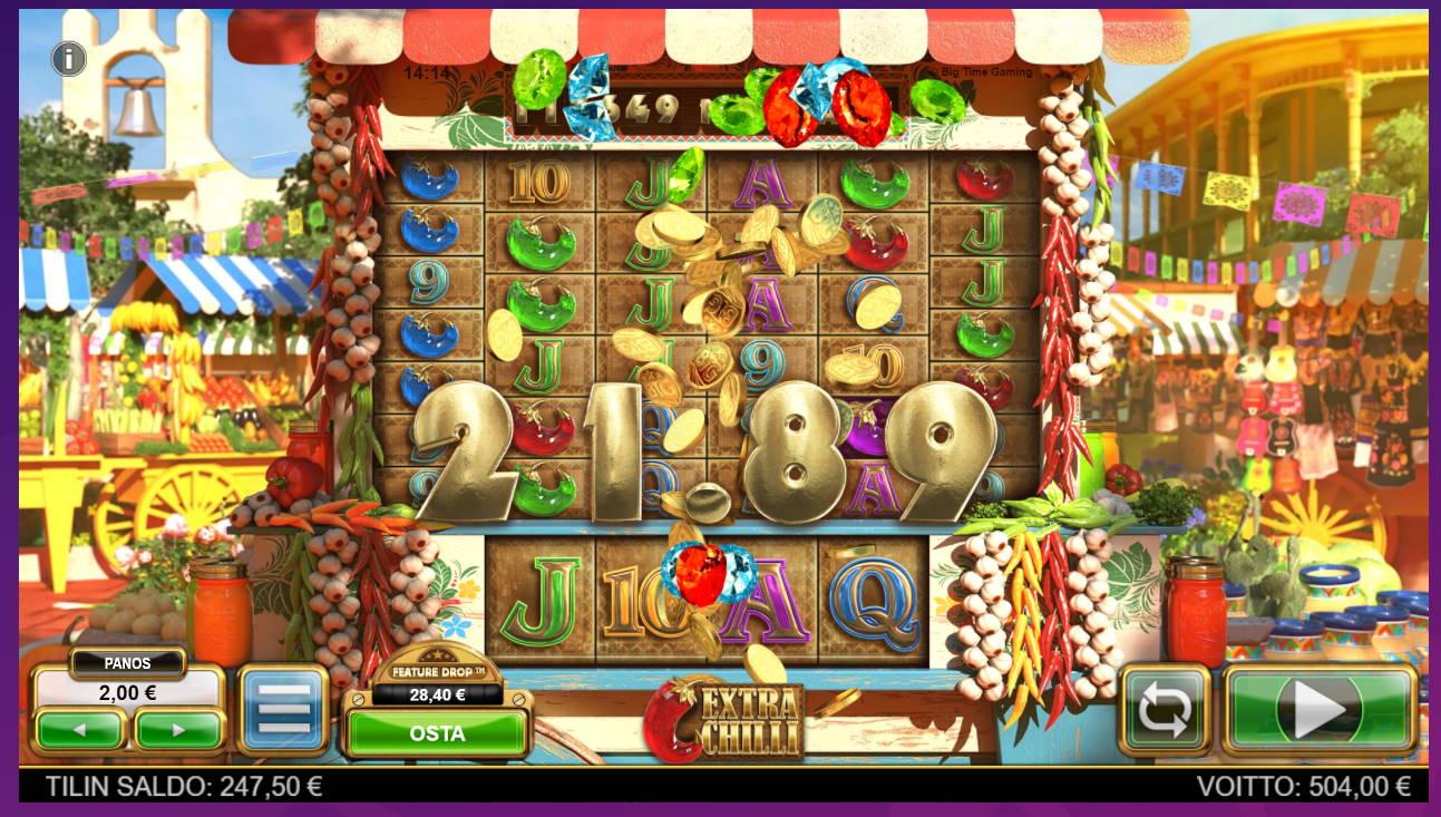 Extra Chilli Casino win picture by tiikerililja87 26.7.2021 504e 252X Wheelz