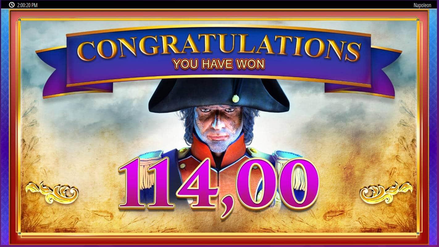 Napoleon Casino win picture by Kari Grandi 18.8.2021 114e 190X