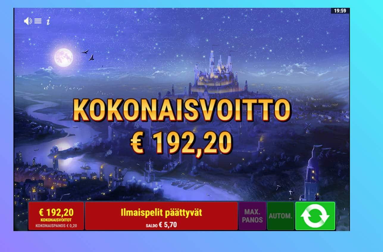 Books & Bounties Casino win picture by Banhamm 1.9.2021 192.20e 961X