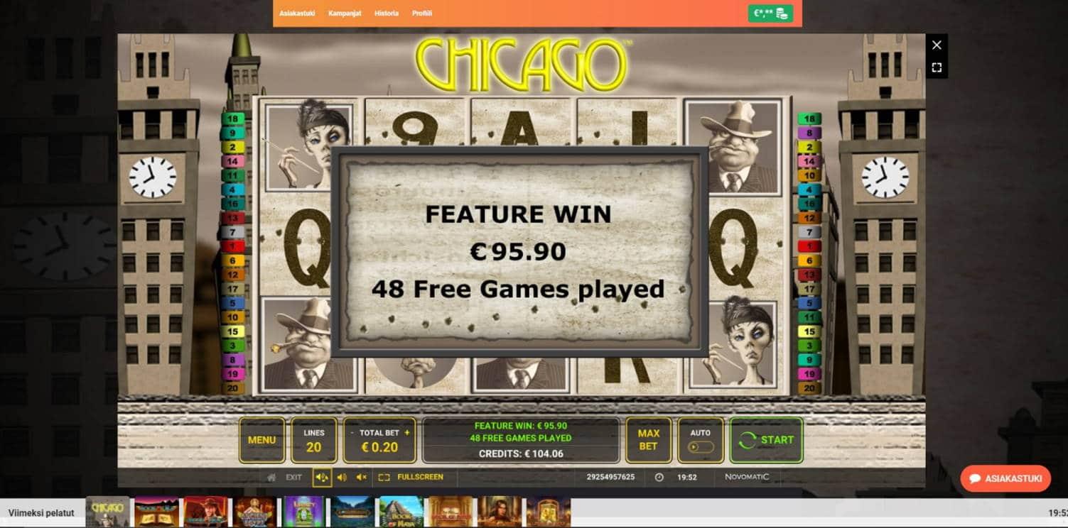 Chicago Casino win picture by Henkka 6.9.2021 95.90e 480X