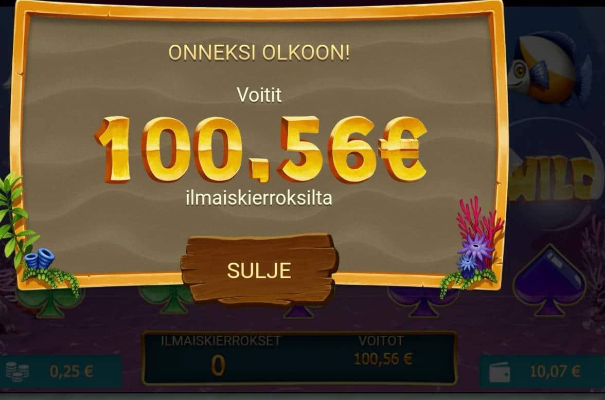 Golden Fish Tank Casino win picture by Hookos 4.9.2021 100.56e 402X