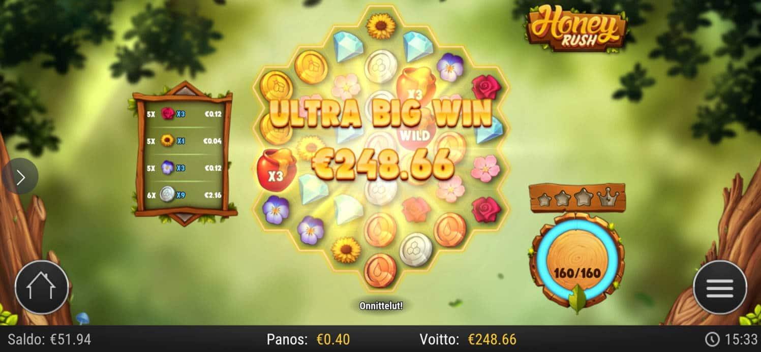 Honey Rush Casino win picture by zespa91 1.9.2021 248.66e 622X