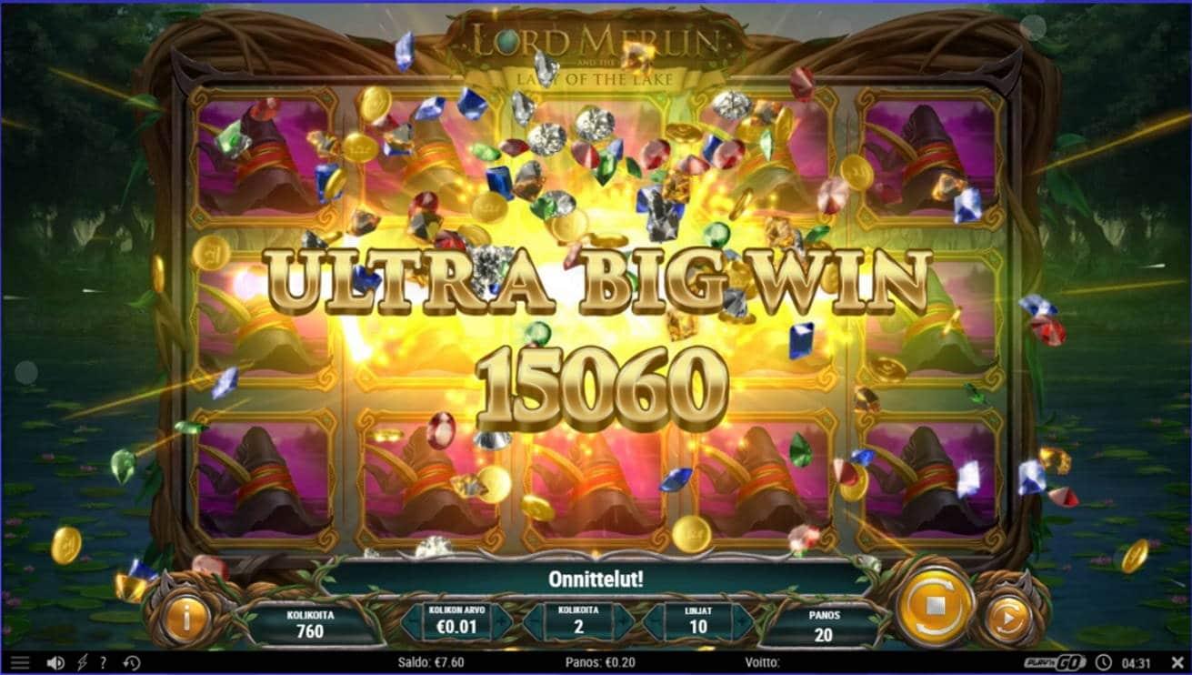 Lord Merlin Casino win picture by Henkka 25.8.2021 150.60e 753X Caxino