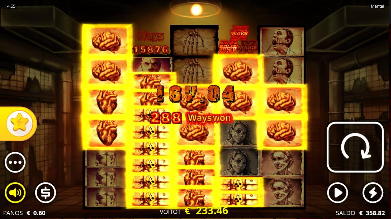 Mental Casino win picture by Kari Grandi 5.9.2021 233.46e 389X