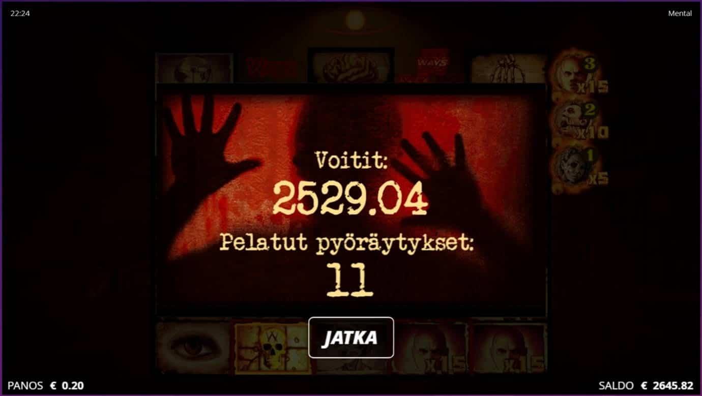Mental Casino win picture by dj_niemi 5.9.2021 2529.04e 12645X