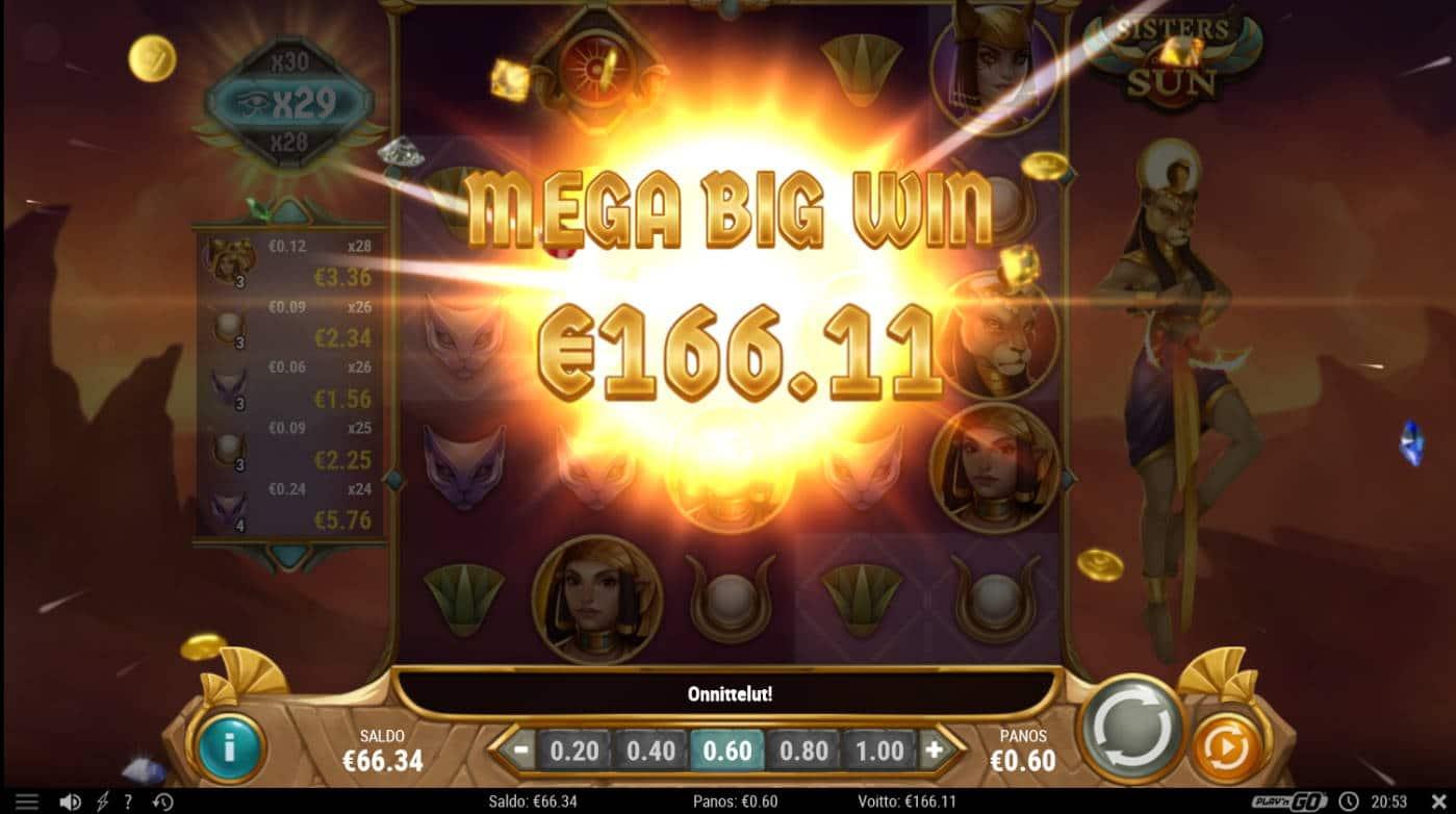 Sisters of the Sun Casino win picture by Kari Grandi 4.9.2021 166.11e 277X
