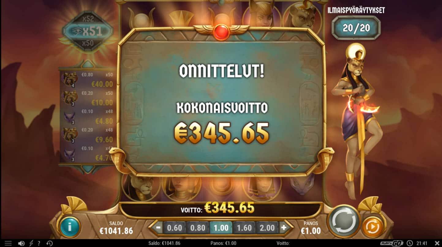 Sisters of the Sun Casino win picture by Kari Grandi 4.9.2021 345.65e 346X