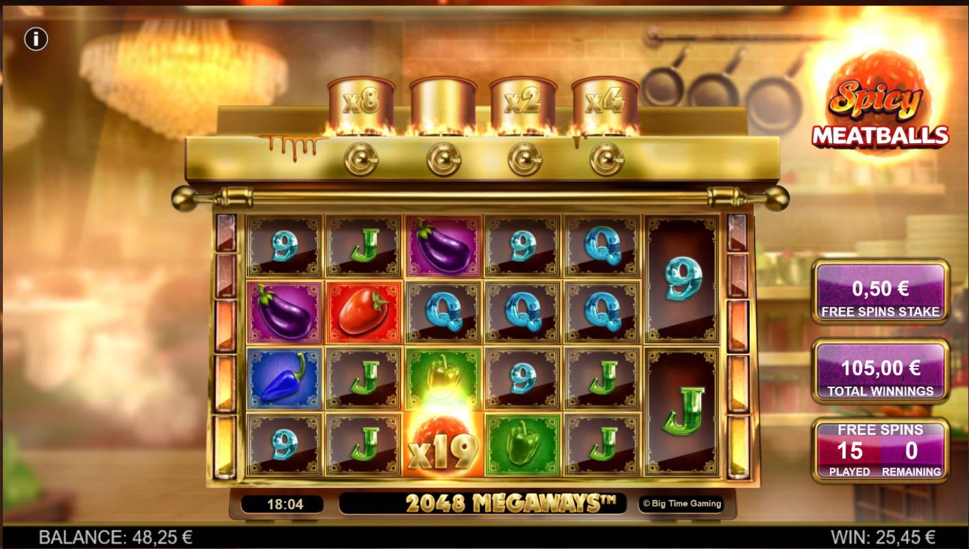 Spicy Meatballs Casino win picture by Kari Grandi 23.8.2021 105e 210X