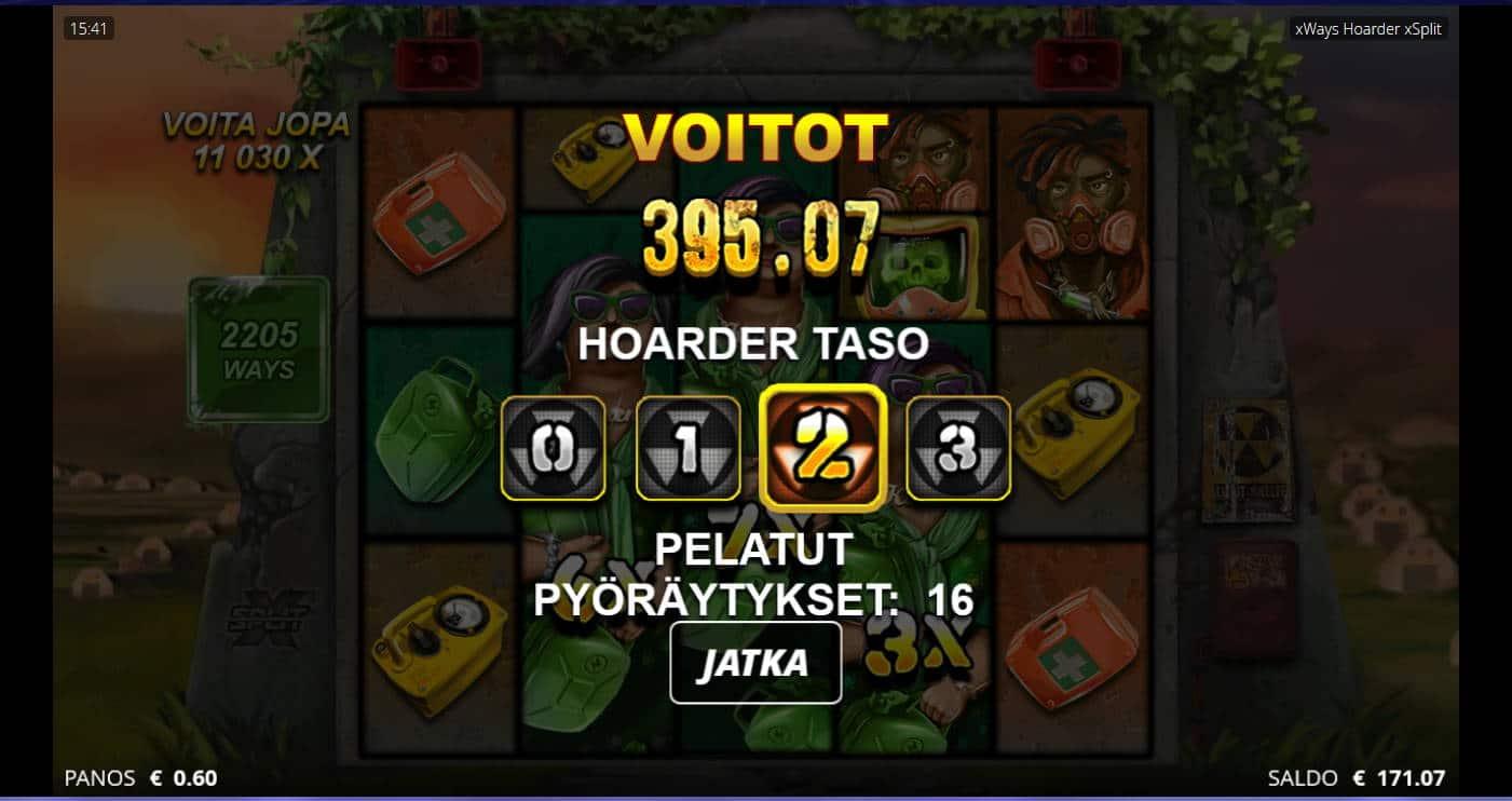 xWays Hoarder xSplit Casino win picture by Kari Grandi 20.8.2021 395.07e 658X
